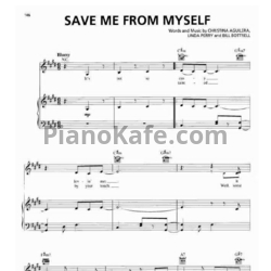 Ноты Christina Aguilera - Save me from myself - PianoKafe.com