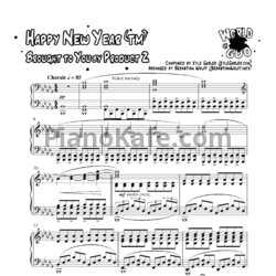 Ноты Kyle Gasler - Happy new year; Brought to You by Product 2 - PianoKafe.com