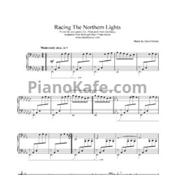 Ноты David Nevue - Racing the northern lights - PianoKafe.com