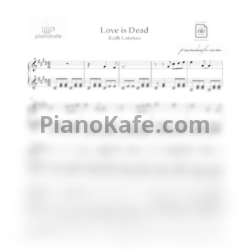 Ноты Ruth Lorenzo - Love is dead - PianoKafe.com