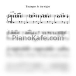 Ноты Bert Kaempfert - Strangers in the night - PianoKafe.com
