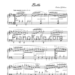 Ноты Richard Galliano - Bella - PianoKafe.com