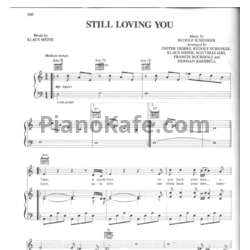 Ноты Scorpions - Still Loving You - PianoKafe.com