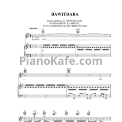 Ноты Kid Rock - Bawitdaba - PianoKafe.com
