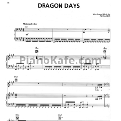 Ноты Alicia Keys - Dragon Days - PianoKafe.com