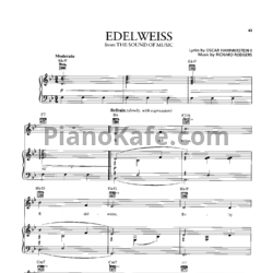 Ноты Richard Rodgers - Edelweiss - PianoKafe.com