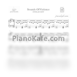 Ноты Onslaught - Out of the storm (Outro) - PianoKafe.com