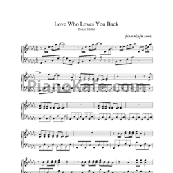 Ноты Tokio Hotel - Love Who Loves You Back (Версия 2) - PianoKafe.com